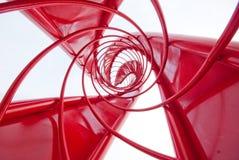 Gewundene Spirale Stockfoto