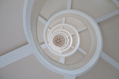 Gewundene Treppe Stockfotografie