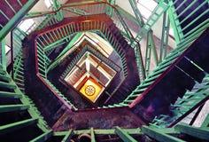 Gewundene Treppen Lizenzfreie Stockfotografie