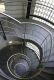 Gewundene Treppen stockfoto