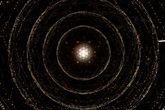 Gewundene Universumgalaxie Lizenzfreies Stockfoto