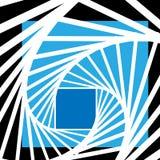 Gewundener abstrakter Hintergrundvektor des Zebras Lizenzfreie Stockfotos