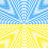 Gewundener Hintergrund Himmel-und Sand-Strand Parasegeln - Strandspaße Vektor Stockbild