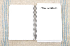 Gewundenes Buch Lizenzfreies Stockfoto