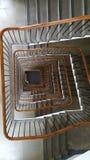 Gewundenes Treppenhaus 2 lizenzfreies stockfoto