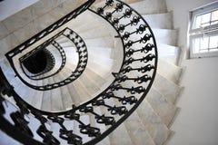Gewundenes Treppenhaus Stockbild