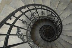 Gewundenes Treppenhaus Stockfoto