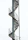 Gewundenes Treppenhaus Lizenzfreies Stockfoto