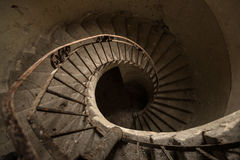 Gewundenes Treppenhaus Lizenzfreie Stockfotografie