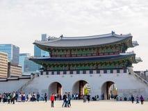 Geyongbokgung pałac w Seul, Południowy Korea obrazy royalty free