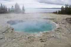 Geyser λίμνες Στοκ εικόνα με δικαίωμα ελεύθερης χρήσης