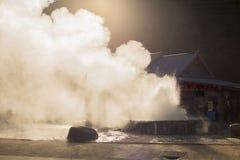 Geyser ατμού Στοκ εικόνα με δικαίωμα ελεύθερης χρήσης