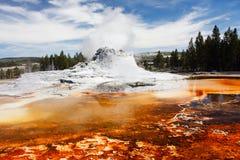 geyser κάστρων Στοκ Εικόνα