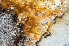 Geyser καυτό ελατήριο Στοκ Φωτογραφίες