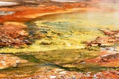 geyser λεκανών ευρισκόμενο σ&tau Στοκ φωτογραφία με δικαίωμα ελεύθερης χρήσης
