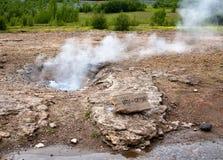 geyser μικρό Στοκ Εικόνες
