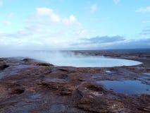 geyser image stock