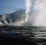 geyser Στοκ Φωτογραφίες