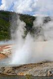 geyser Royaltyfria Foton