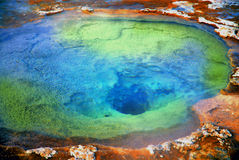Geyser Photo stock