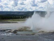 geyser Fotografia Stock
