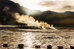 geyser Στοκ Εικόνα