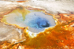 Geyser arrugginito Immagine Stock