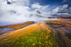 Geyser Basin, Yellowstone National Park, Wyoming Royalty Free Stock Photo
