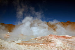 Geyser in bolivia Royalty Free Stock Photos