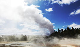 Geyser Castle Stock Photography