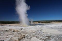 Geyser Clepsydra στόμα, χαμηλότερη Geyser λεκάνη του εθνικού πάρκου Yellowstone Στοκ Εικόνες