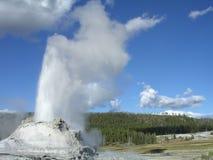 geyser de château Image stock