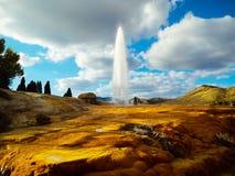 Geyser de Soda Springs photographie stock libre de droits
