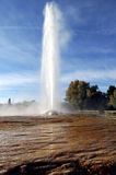 Geyser de Soda Springs photo libre de droits