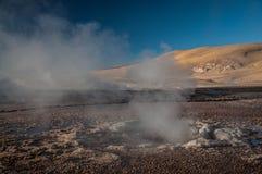 Geyser del Tattio - Atacama Fotografía de archivo libre de regalías