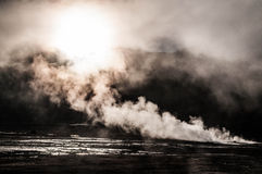 Geyser del Tattio - Atacama Stock Photo