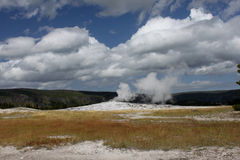 Geyser del Yellowstone immagine stock libera da diritti