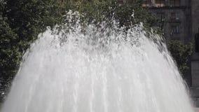 Geyser della fontana stock footage