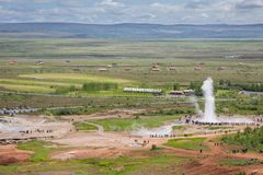 Geyser Stock Photography