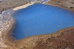 Geyser dormiente in Islanda Fotografia Stock