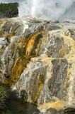 Geyser e minerali Immagini Stock
