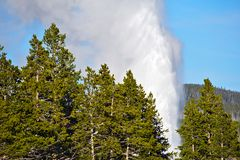 Geyser Eruption Royalty Free Stock Photo