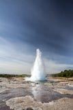 Geyser explosion Stock Image