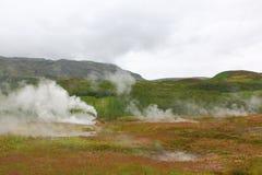Geyser, Haukadalur, golden circle near Reykjavik Royalty Free Stock Photography