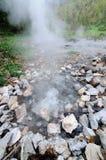 Geyser at HuaiNamDang National Park Royalty Free Stock Images