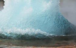 Geyser i Island Royaltyfria Bilder