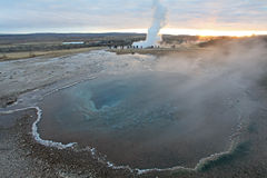Geyser Iceland Royalty Free Stock Photos