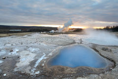Geyser Iceland Stock Images