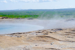 Geyser in Iceland Stock Images