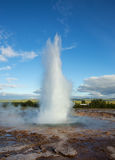 Geyser islandês Foto de Stock Royalty Free